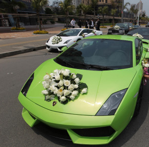 Lamborghini hochzeit winterthur